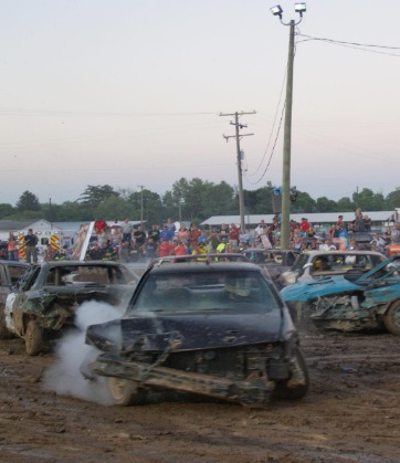 Compact Stock Demo Derby